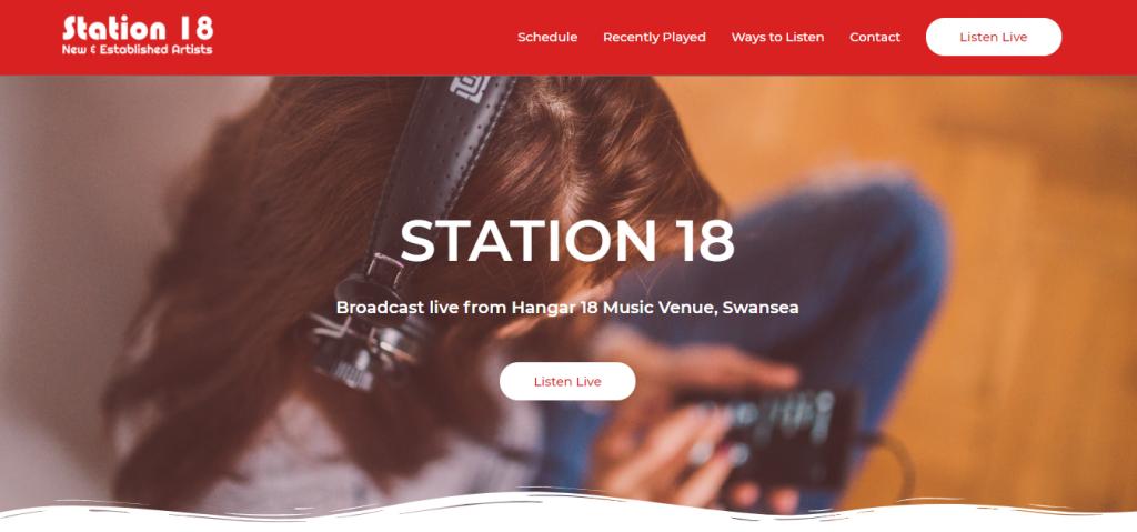 Station 18 - New Website