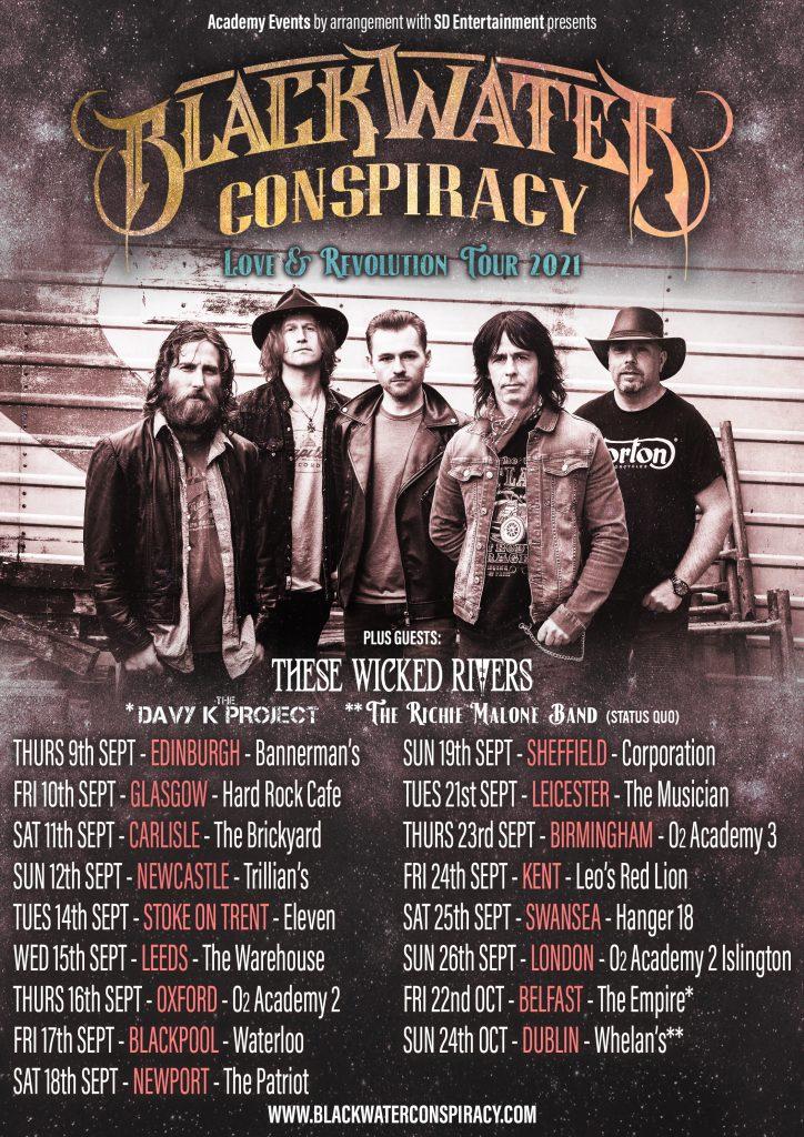 Blackwater Conspiracy Love & Revolution Tour