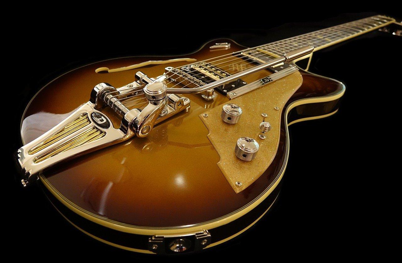 e guitar, instrument, music